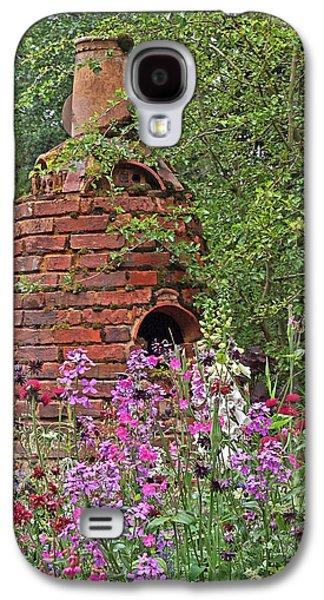 Garden Scene Galaxy S4 Cases - Gone To Pot - The Potters Flower Garden Galaxy S4 Case by Gill Billington