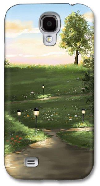 Digital Galaxy S4 Cases - Good evening Galaxy S4 Case by Veronica Minozzi