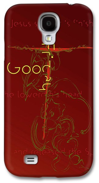 Holy Week Galaxy S4 Cases - Good Friday Galaxy S4 Case by Chuck Mountain