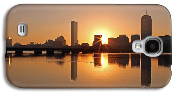 Home Improvement Galaxy S4 Cases - Good Morning Boston Galaxy S4 Case by Juergen Roth
