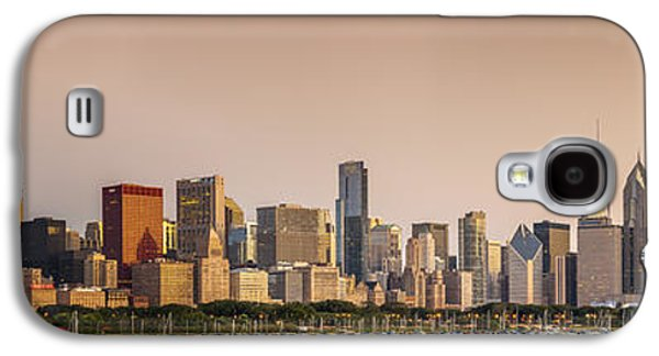 Sun Galaxy S4 Cases - Good Morning Chicago Galaxy S4 Case by Sebastian Musial