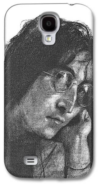 Rocks Drawings Galaxy S4 Cases - Goodbye John Galaxy S4 Case by David Lloyd Glover