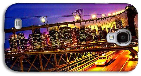 Cab Galaxy S4 Cases - Goodbye New York City Galaxy S4 Case by Az Jackson