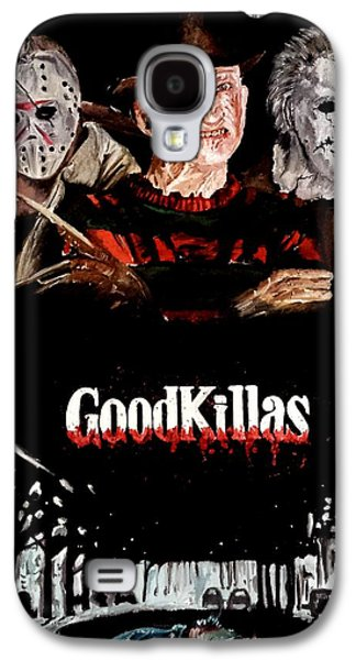 Slash Paintings Galaxy S4 Cases - GoodKillers Galaxy S4 Case by S G Williams
