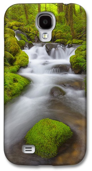 Landscape Acrylic Prints Galaxy S4 Cases - Gorge Light Galaxy S4 Case by Darren  White