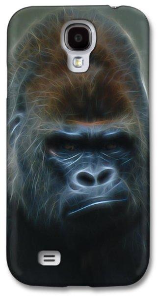 Gorilla Digital Galaxy S4 Cases - Gorilla Digital Art Galaxy S4 Case by Ernie Echols