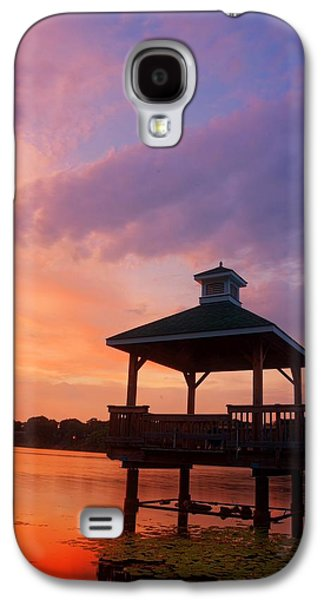 Warwick Galaxy S4 Cases - Gorton Pond Beauty Warwick Rhode Island Galaxy S4 Case by Lourry Legarde