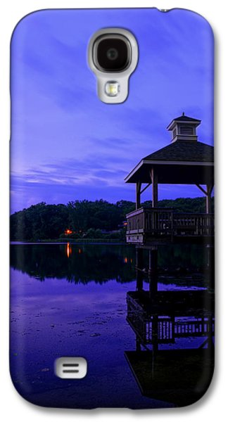 Warwick Galaxy S4 Cases - Gorton Pond Rhode Island Galaxy S4 Case by Lourry Legarde