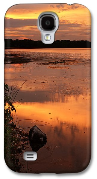 Warwick Galaxy S4 Cases - Gorton Pond Warwick Rhode Island Galaxy S4 Case by Lourry Legarde