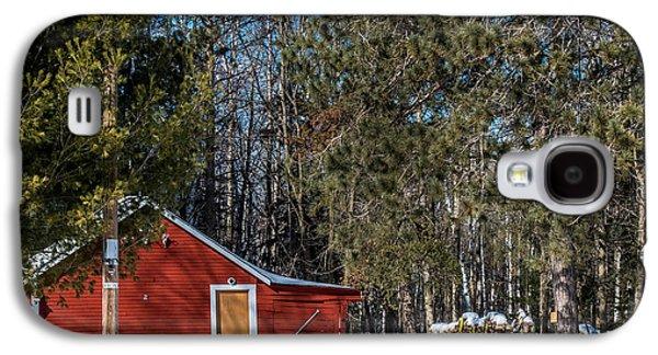 Barn Yard Galaxy S4 Cases - Got Wood Galaxy S4 Case by Paul Freidlund