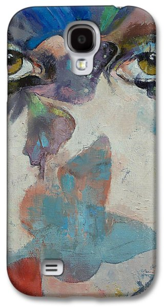 Eyes Galaxy S4 Cases - Gothic Butterflies Galaxy S4 Case by Michael Creese