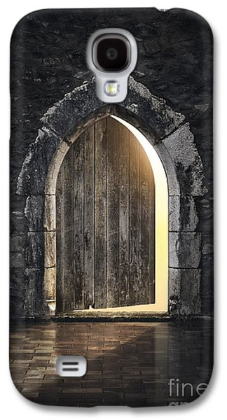 Historical Buildings Galaxy S4 Cases - Gothic Light Galaxy S4 Case by Carlos Caetano