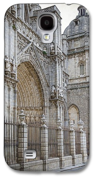 Ancient Galaxy S4 Cases - Gothic Splendor of Spain Galaxy S4 Case by Joan Carroll