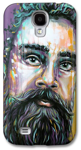 Drip Paintings Galaxy S4 Cases - Gotzman Galaxy S4 Case by Jeremy Scott