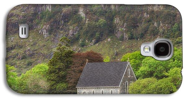 Gougane Barra Church Photographs Galaxy S4 Cases - Gougane Barra Galaxy S4 Case by Phillip Cullinane
