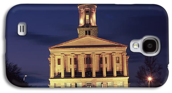 Tennessee Landmark Galaxy S4 Cases - Government Building At Dusk, Tennessee Galaxy S4 Case by Panoramic Images