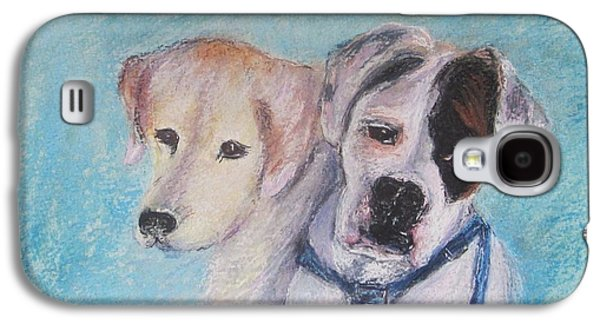 Boxer Pastels Galaxy S4 Cases - Grace and Strength Galaxy S4 Case by Andrea Flint Lapins