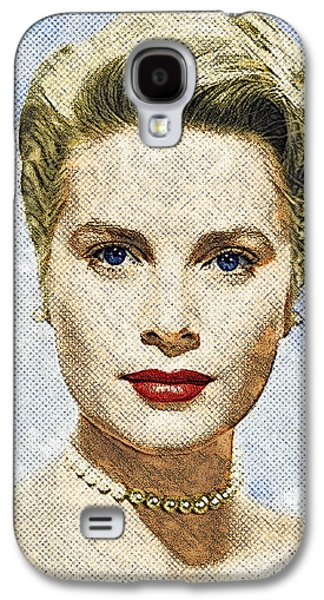Grace Kelly Galaxy S4 Case by Taylan Soyturk