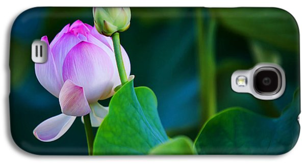 Photographic Art Galaxy S4 Cases - Graceful Lotus. Pamplemousses Botanical Garden. Mauritius Galaxy S4 Case by Jenny Rainbow