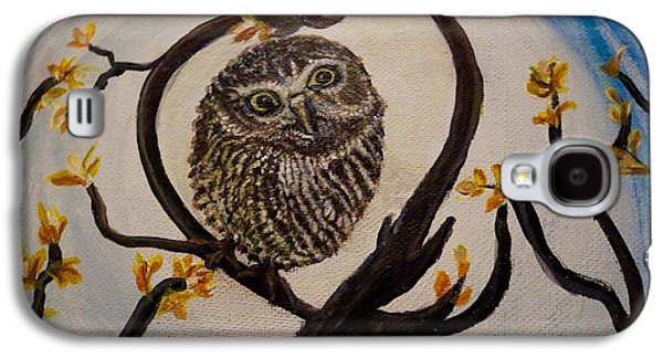 The Nature Center Paintings Galaxy S4 Cases - Graciela Finds Her Heart Song I  Galaxy S4 Case by Kimberlee  Baxter