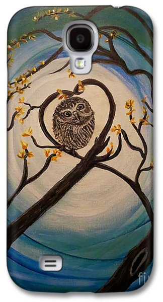 The Nature Center Paintings Galaxy S4 Cases - Graciela Finds Her Heartsong Galaxy S4 Case by Kimberlee  Baxter