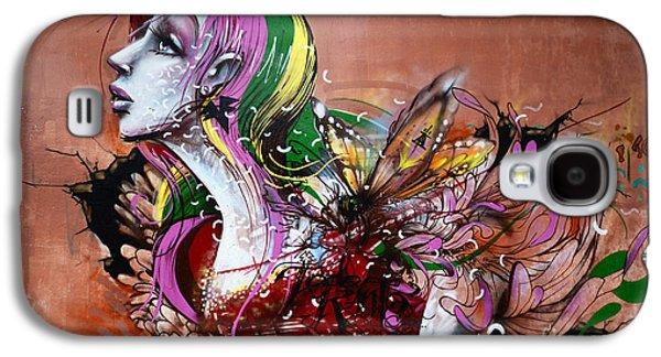Urban Images Galaxy S4 Cases - Graffiti Art Curitiba Brazil 15 Galaxy S4 Case by Bob Christopher