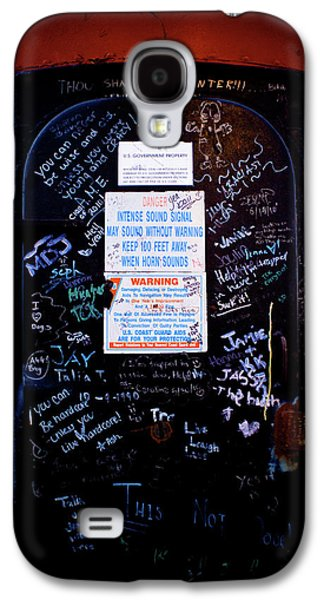 Lighthouse Galaxy S4 Cases - Graffiti Door Galaxy S4 Case by Sebastian Musial