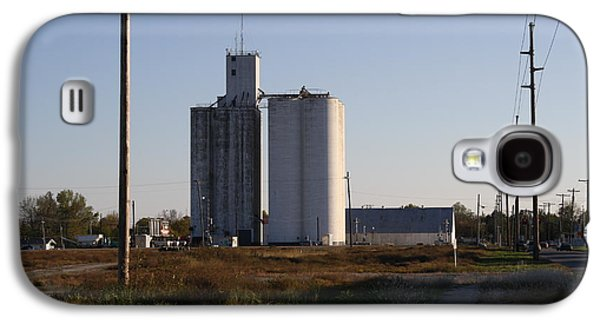 Old Feed Mills Galaxy S4 Cases - Grain Galaxy S4 Case by Larry Lamb