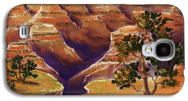 Landmarks Pastels Galaxy S4 Cases - Grand Canyon Galaxy S4 Case by Anastasiya Malakhova