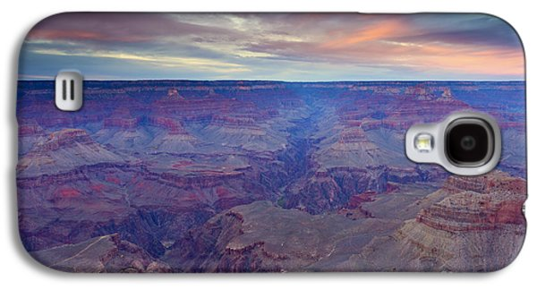 Grand Canyon Photographs Galaxy S4 Cases - Grand Canyon Dusk Galaxy S4 Case by Mike  Dawson