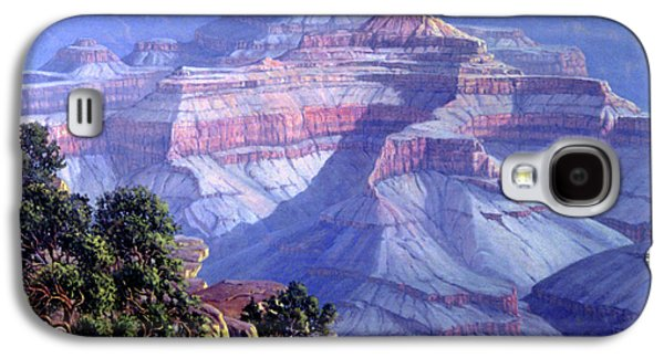 National Park Paintings Galaxy S4 Cases - Grand Canyon Galaxy S4 Case by Randy Follis