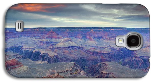 Grand Canyon Photographs Galaxy S4 Cases - Grand Canyon Storm Set Galaxy S4 Case by Mike Dawson