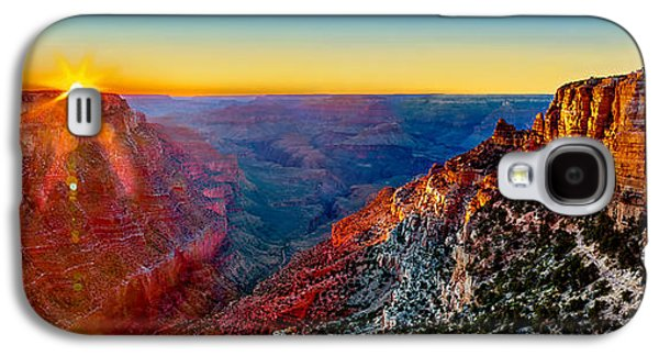 Sun Galaxy S4 Cases - Grand Canyon Sunset Galaxy S4 Case by Az Jackson
