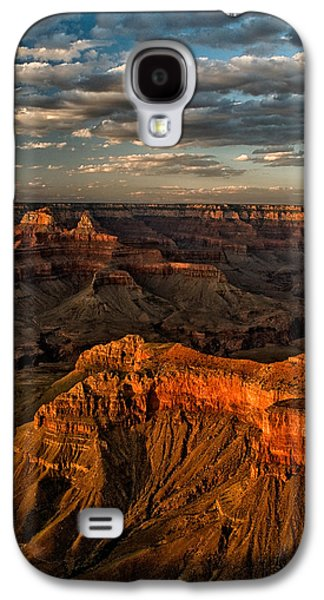 Grand Canyon Photographs Galaxy S4 Cases - Grand Canyon Sunset Galaxy S4 Case by Cat Connor