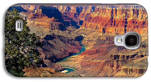 Haybale Photographs Galaxy S4 Cases - Grand Canyon Sunset Galaxy S4 Case by Robert Bales