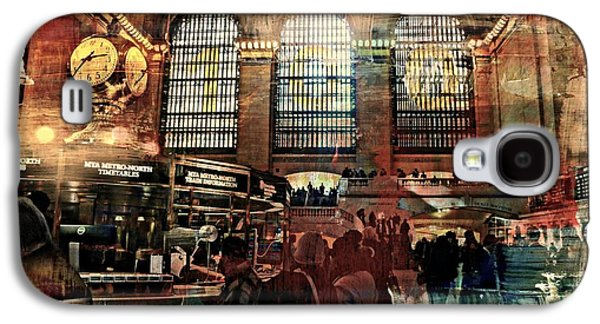 Tripple Galaxy S4 Cases - Grand Central Terminal 100 Years Galaxy S4 Case by Diana Angstadt