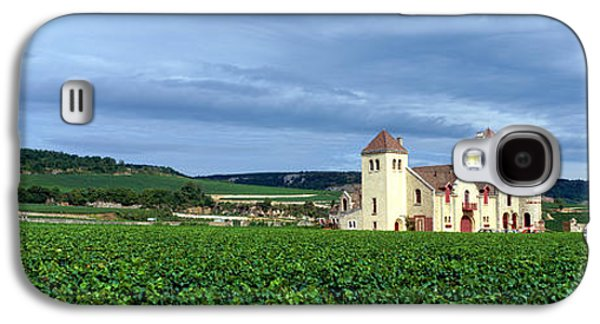 Grapevines Photographs Galaxy S4 Cases - Grand Cru Vineyard, Burgundy, France Galaxy S4 Case by Panoramic Images