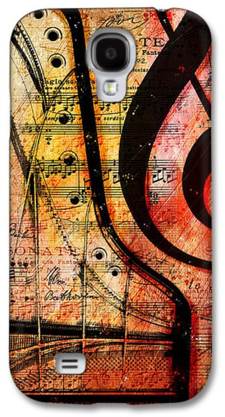 Piano Galaxy S4 Cases - Grand Fathers Galaxy S4 Case by Gary Bodnar