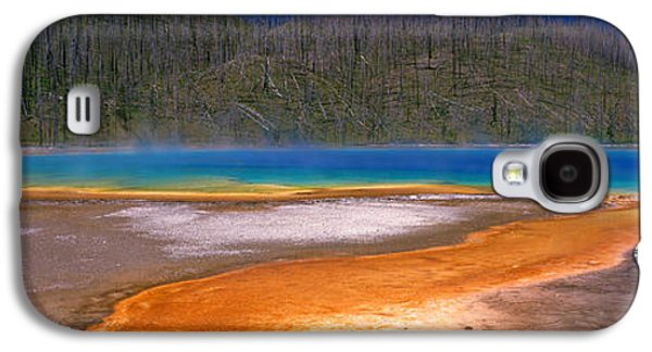 Alga Galaxy S4 Cases - Grand Prismatic Spring, Yellowstone Galaxy S4 Case by Panoramic Images