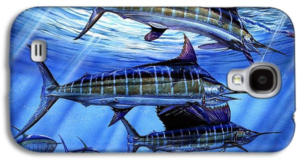 Marlin Galaxy S4 Cases - Grand Slam Lure And Tuna Galaxy S4 Case by Terry Fox