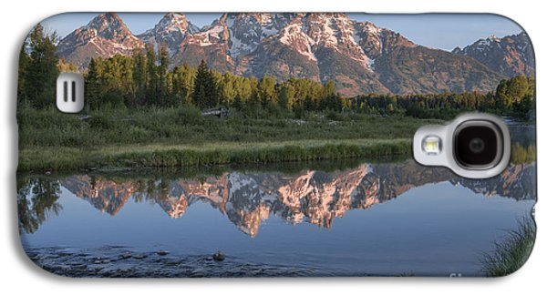 Grand Teton Awakening Galaxy S4 Case by Sandra Bronstein