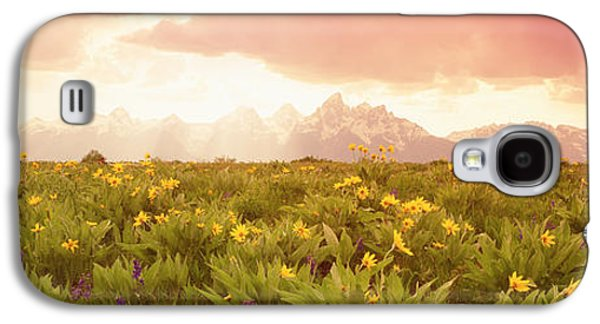 Surreal Landscape Galaxy S4 Cases - Grand Teton Park, Wyoming, Usa Galaxy S4 Case by Panoramic Images
