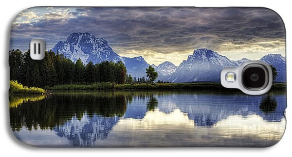 Galaxy S4 Cases - Grand Teton Sunset Galaxy S4 Case by Dick Cunningham