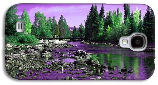 White River Scene Photographs Galaxy S4 Cases - Grand Tetons National Park  Galaxy S4 Case by Aidan Moran