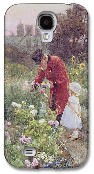 Gathering Galaxy S4 Cases - Grandads Garden Galaxy S4 Case by Rose Maynard Barton