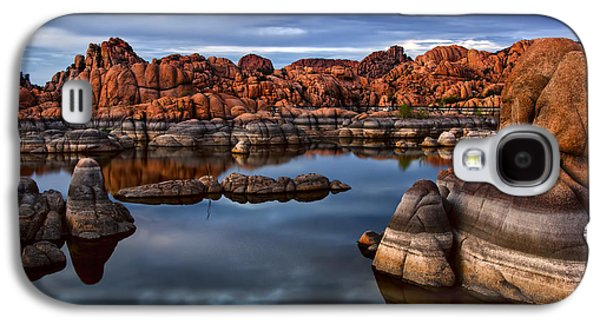 Prescott Photographs Galaxy S4 Cases - Granite Dells at Watson Lake Arizona 2 Galaxy S4 Case by Dave Dilli