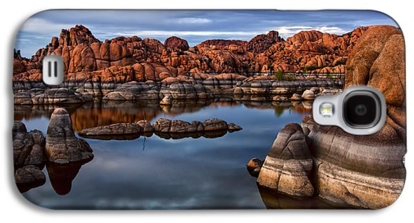 Granite Dells At Watson Lake Arizona 2 Galaxy S4 Case by Dave Dilli