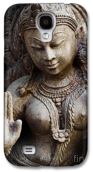 Granite Indian Goddess Galaxy S4 Case by Tim Gainey