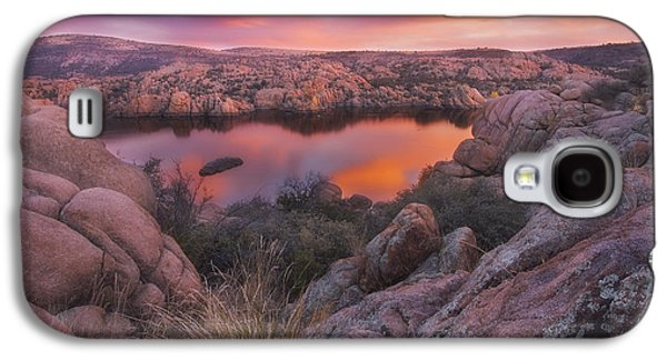 Sorbet Galaxy S4 Cases - Granite Sorbet Galaxy S4 Case by Peter Coskun