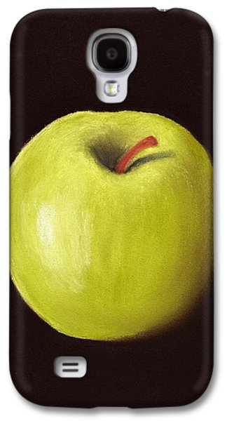 Still Life Pastels Galaxy S4 Cases - Granny Smith Apple Galaxy S4 Case by Anastasiya Malakhova